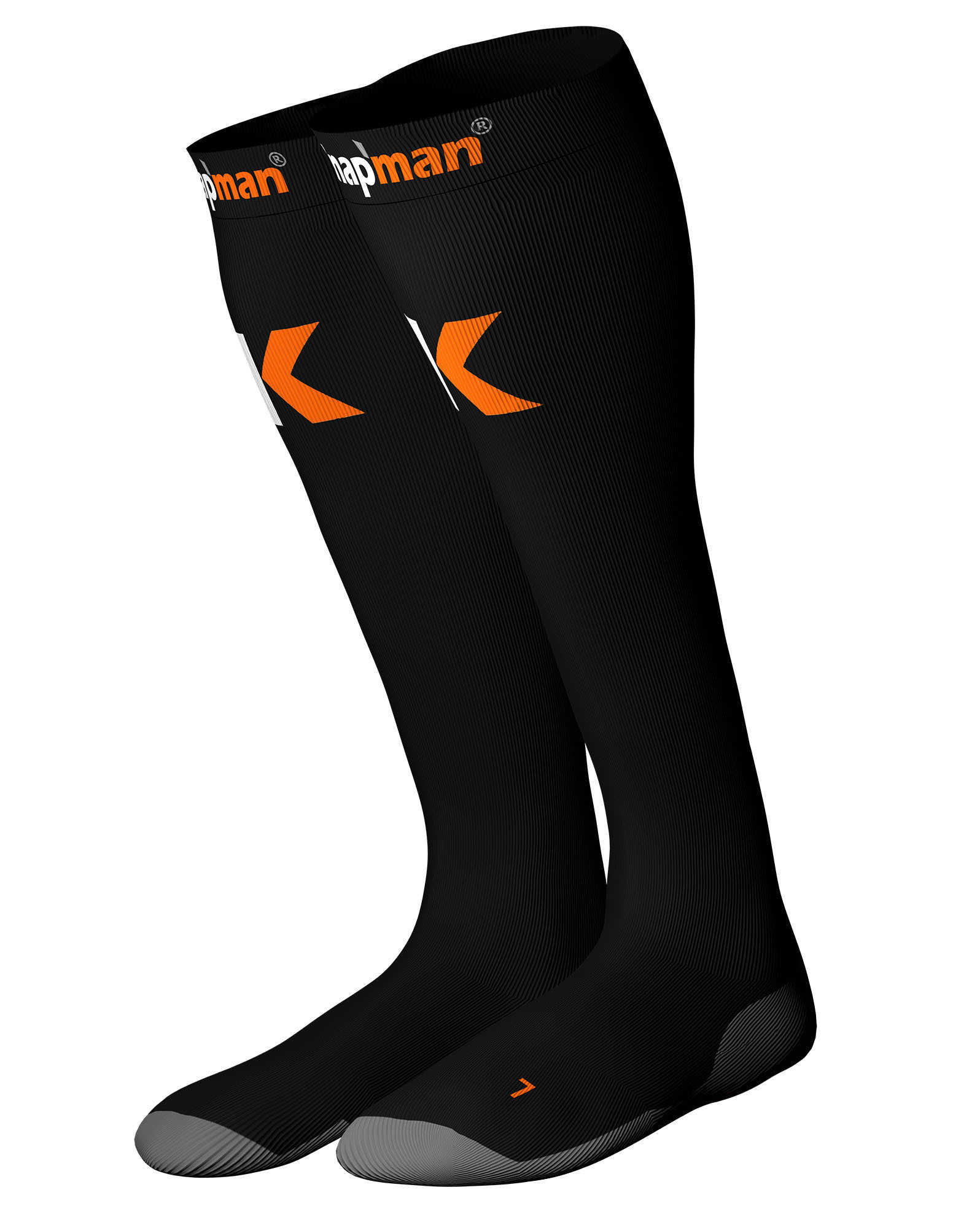 Knap'man Compression Socks Black